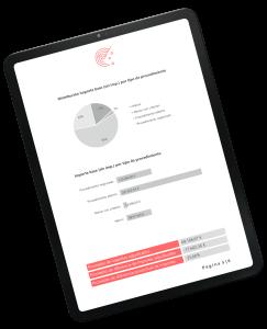 iQ Radar por Estrategiqa en iPad